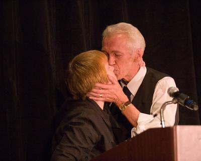 Bonnie Claeson and Ken Bruen