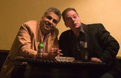 Ali Karim and Mike Stotter
