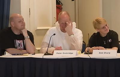 Adrian Muller, Peter Guttridge, and Zoë Sharp