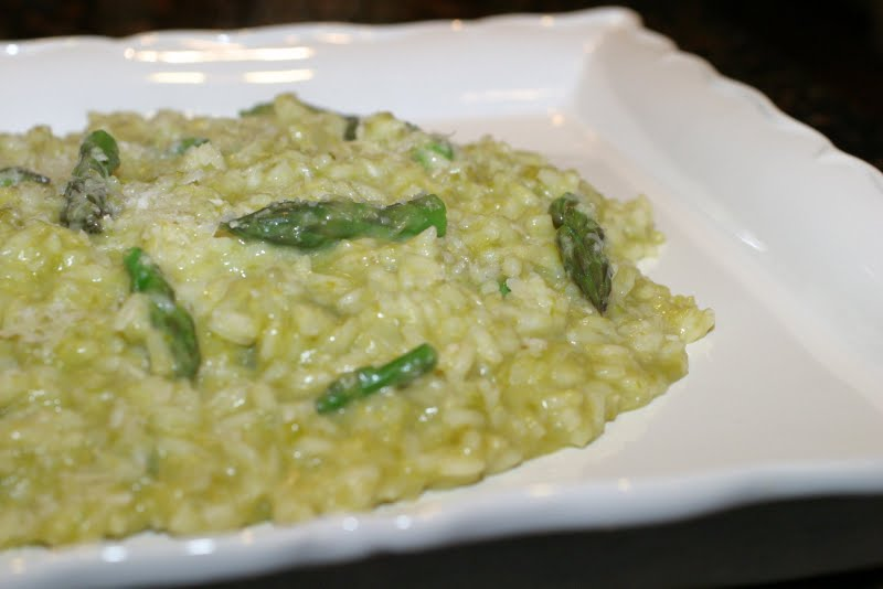 The Italian Dish - Posts - Asparagus Risotto