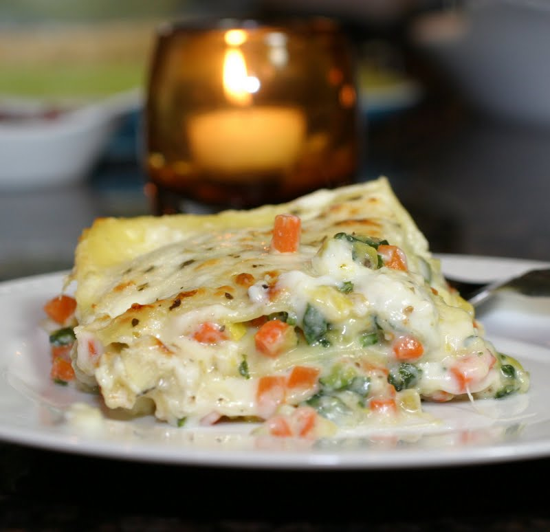 Italian Recipes: Roasted Vegetable Lasagna