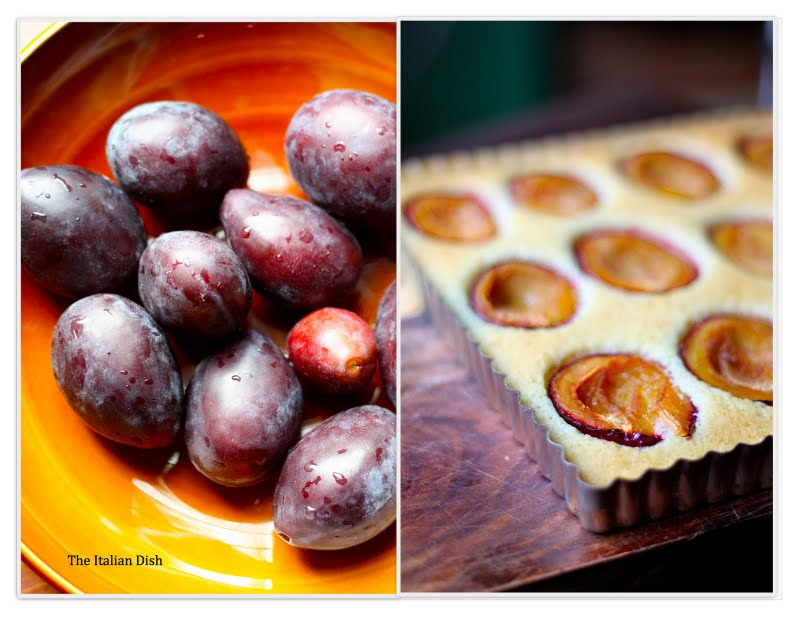 The Italian Dish - Posts - Plum Almond Cake