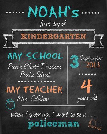Firstdayofschoolchalkboard
