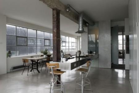 Industrial loft desire to inspire - Chambre style loft industriel ...