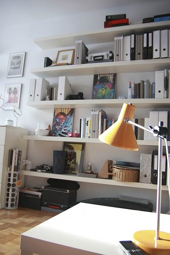 Glass Curio Cabinets At Ikea ~ Flickr finds  Ikea's Lack floating shelves  desire to inspire