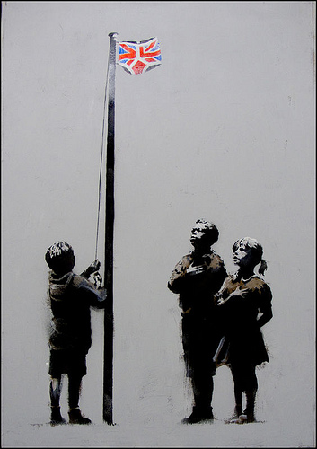 Banksy 'Pants' Original £30,000 Each