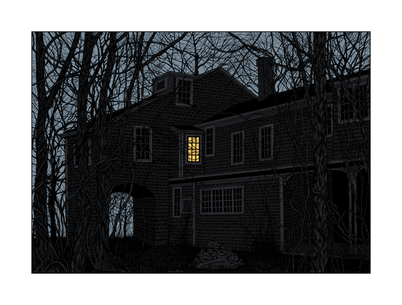 'The House Of Edward Gorey' Edition of 500ish Size: 25 x 19 Inches <a href=