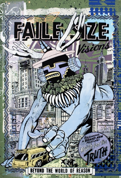 Faile 'Reach For The Truth' Edition of 20 Size: 25 x 38 Inches [caption id=