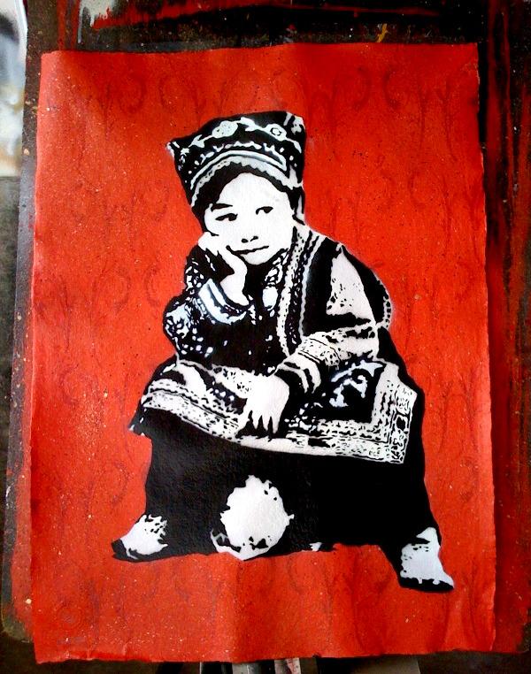 Grafter 'Tibetan Boy' Edition of 25 Size: 56 x 76cm £90 Each