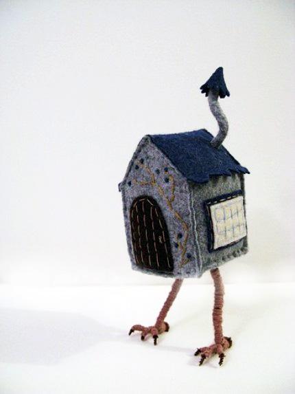 Melissa Sue 'Baba Yaga' Felt Tree Houses