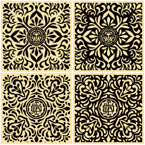 Japanese Pattern Set Edition of 100 Size: 18 x 18 Inches [caption id=