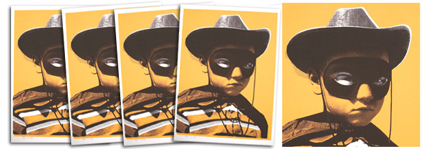 Paul Insect 'Outsider' Orange Edition Size: 19.5 x 27 Inches [caption id=