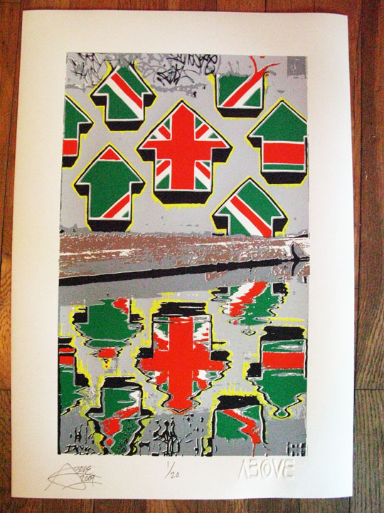 Above 'Union Jack Arrows' Edition of 20 Size: 15 x 22 Inches £99 Each