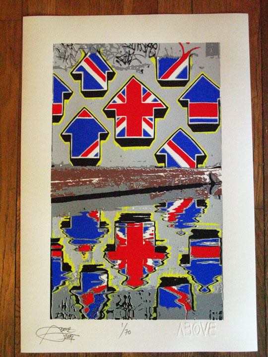 Above 'Union Jack Arrows' Edition of 70 Size: 15 x 22 Inches £69 Each