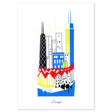 Binth 'Chicago' Size: 8 x 10
