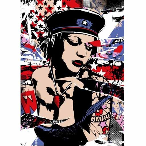 Copyright 'Glory Britannia' Edition of 75 Size: 50 x 70 cm £75 Each