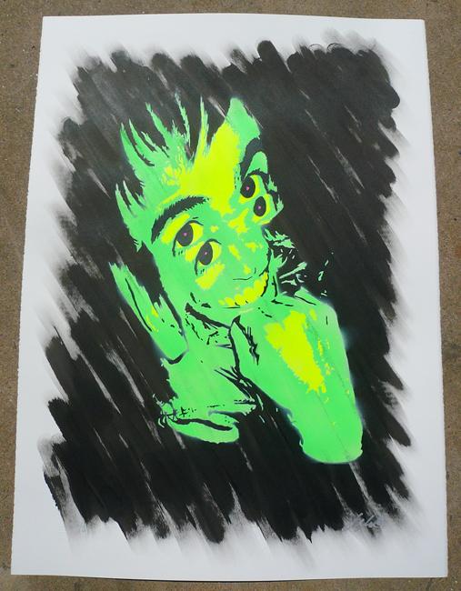 Ian Millard 'Caler' Green Edition of 5 Size: 22 x 30 Inches $60 Each