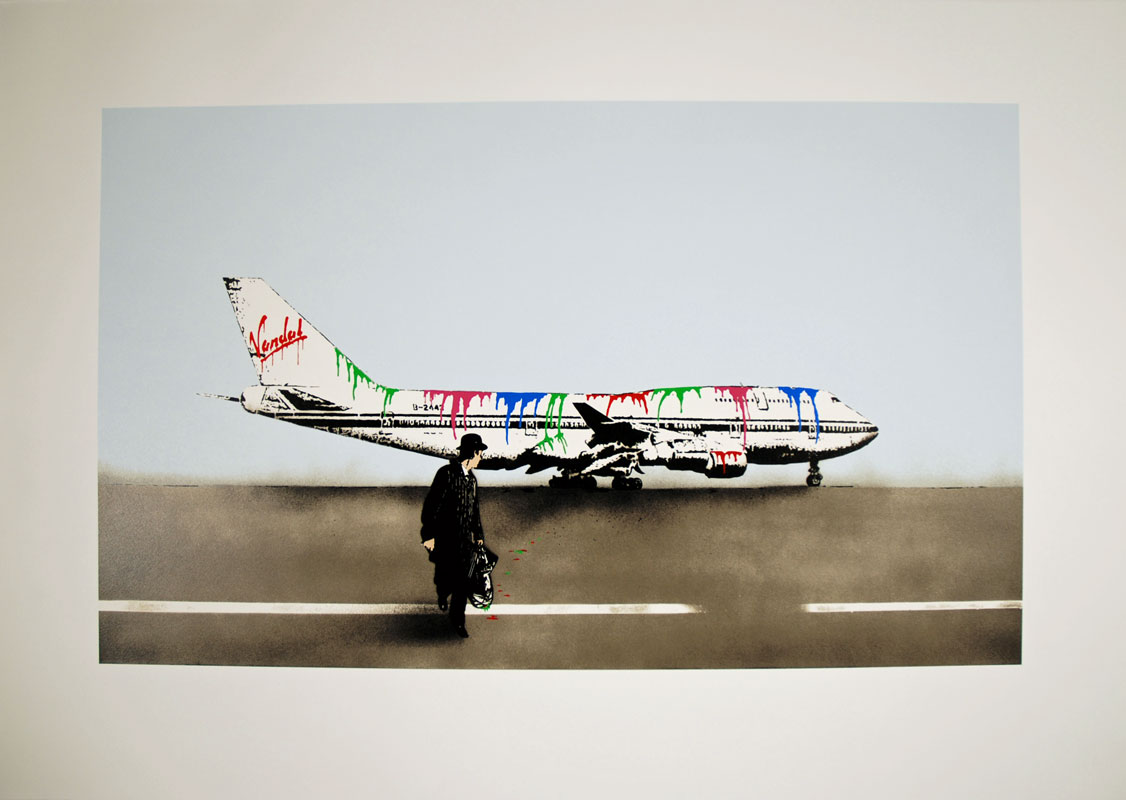 Nick Walker 'Vandal Airways' Edition of 150 Size: 93 x 64 cm £1,050 Each