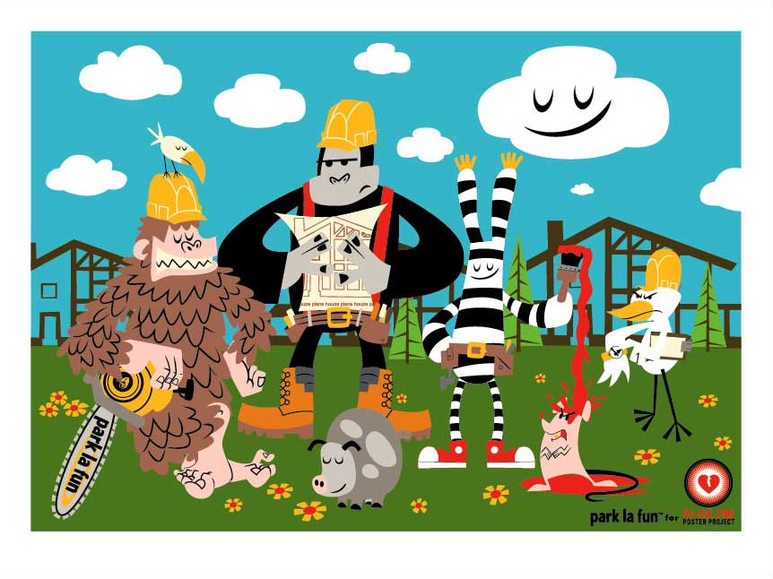 Paul Frank 'Rebuilding So-Cal' Edition of 50 [caption id=