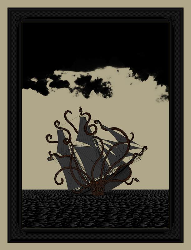 Dan McCarthy 'Dark Days' Edition of 450 Size: 19 x 25 Inches <a href=