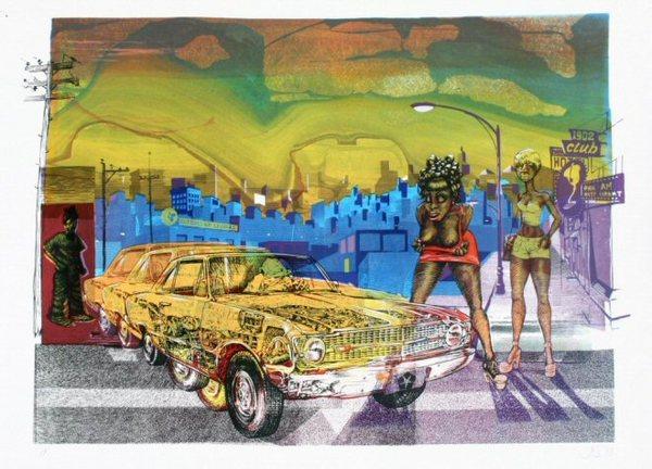 John Seabury 'San Pablo Serenade' Edition of 130 Size: 35 x 24 Inches $300 Each