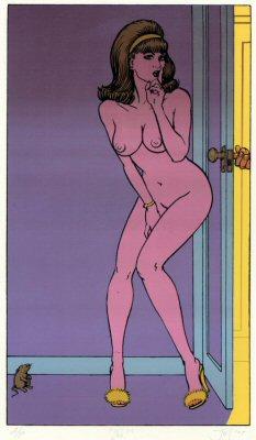 John Seabury 'Shh!' Edition of 100 Size: 11 x 17 Inches $50 Each