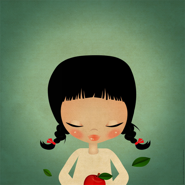 Limoon 'Red Apple' Edition of 300 Sizes: 12x12 or 20x20 29€-59€