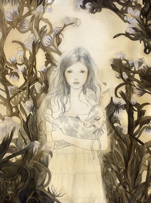 Melissa Haslam 'Apparition' Edition of 25 Size: 12 x 15.5 Inches [caption id=
