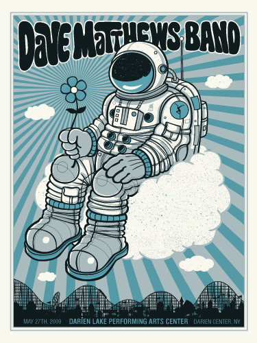 Methane 'Dave Matthews Band' Edition of 400 Sixe 18 x 24 Inches <a href=