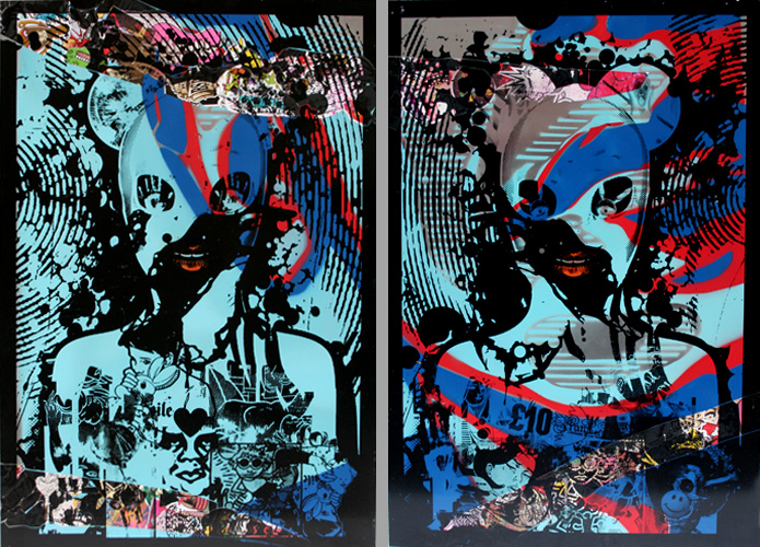 Miss Bugs 'Dirty Art...' Edition of 42 Size: 50 x 70cm £380 Each