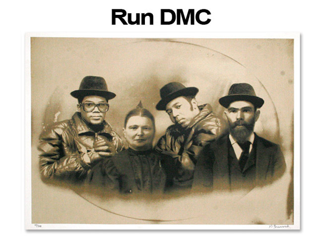 Mr Brainwash 'RUN DMC' Edition of 300 Size: 30 x 22 Inches [caption id=