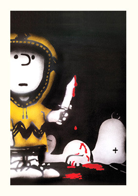 SPQR 'What's The Matter Charlie Brown?' Edition of 100 Size: 56 x 76cm £120 Each