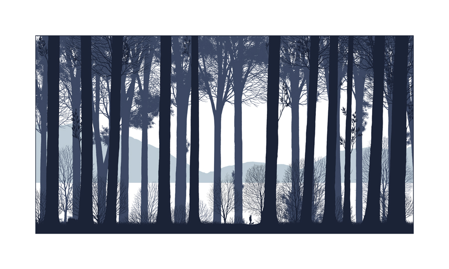 Dan McCarthy 'Stand By Me' Edition of 450ish Size: 25 x 15 Inches <a href=