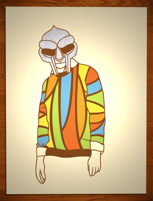 Felix Jackson Jr 'Iron Mask Or The Cosby Sweater' Edition of 50 Size: 18 x 24 Inches