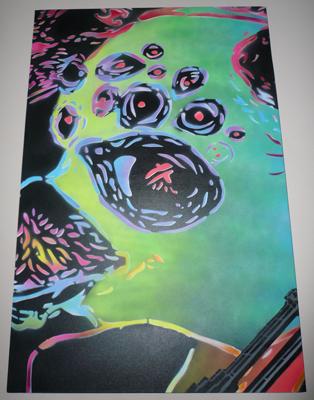 Ian Millard 'An I For An Eye' Canvas 24 x 36 Inches $300