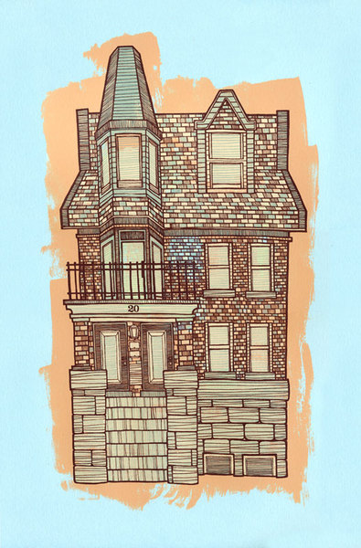 John Vogl 'House No. 20' Edition of 65 Size: 12.5 x 19 [caption id=