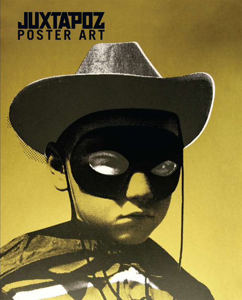 Juxtapoz Poster Book # 3 Hard Cover 192 Pages [caption id=