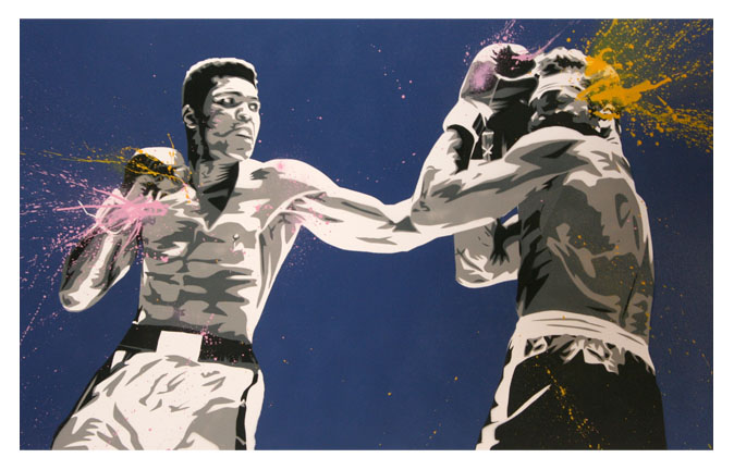 Mr Brainwash 'Legend' Edition of 200 Size: 30 x 22 Inches $150 Each