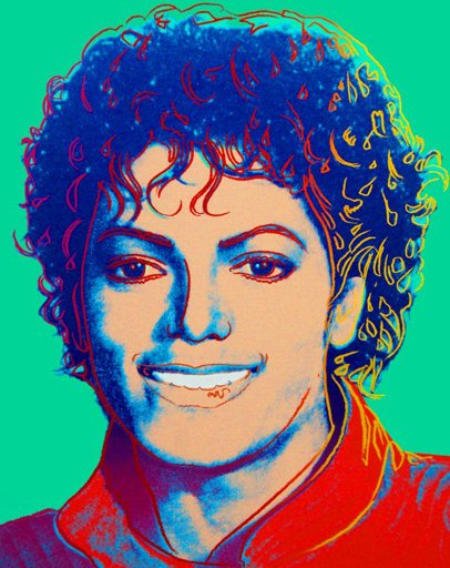 Andy Warhol 'Michael Jackson' Print Available - PostersandPrints ...