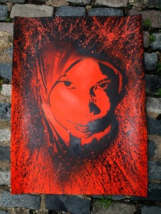 Grafter 'Amina' Orange Edition of 20 Size: 34 x 20 Inches £70 Each