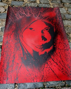 'Amina' Red Edition of 20 Size: 30 x 24 Inches £70 Each