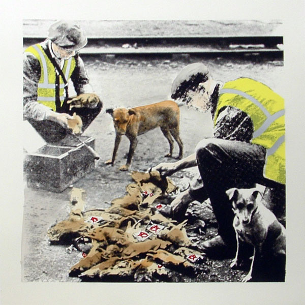 Static 'Clean Up Crew' Edition of 25 Size: 50 x 50 cm £95 Each