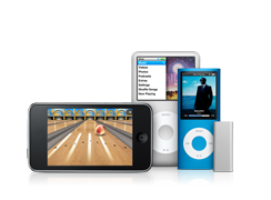 The iPod Family - Now easier to lose