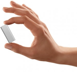 Smaller than your average shuffle - the new iPod with VoiceOver