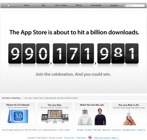 Counting to Ecstasy: Apple prepares the confetti and balloons for its big Billionth
