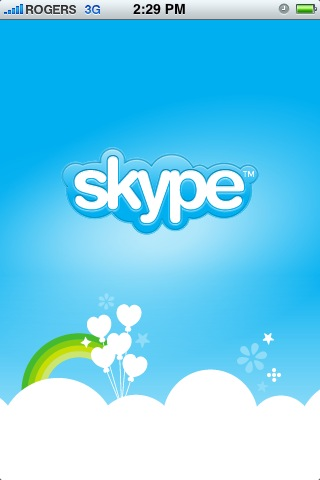 """Clever workarounds have enabled the """"Skype"""" and """"Rogers"""" logos to coexist on the same page"""