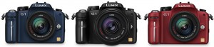 Pick a color: The Panasonic Lumix G1 Micro Four Thirds Camera