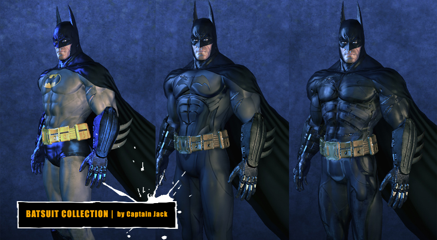 Batman-Skin-Header & BATMAN: ARKHAM ASYLUM - Fan Modified Suits u2014 GeekTyrant