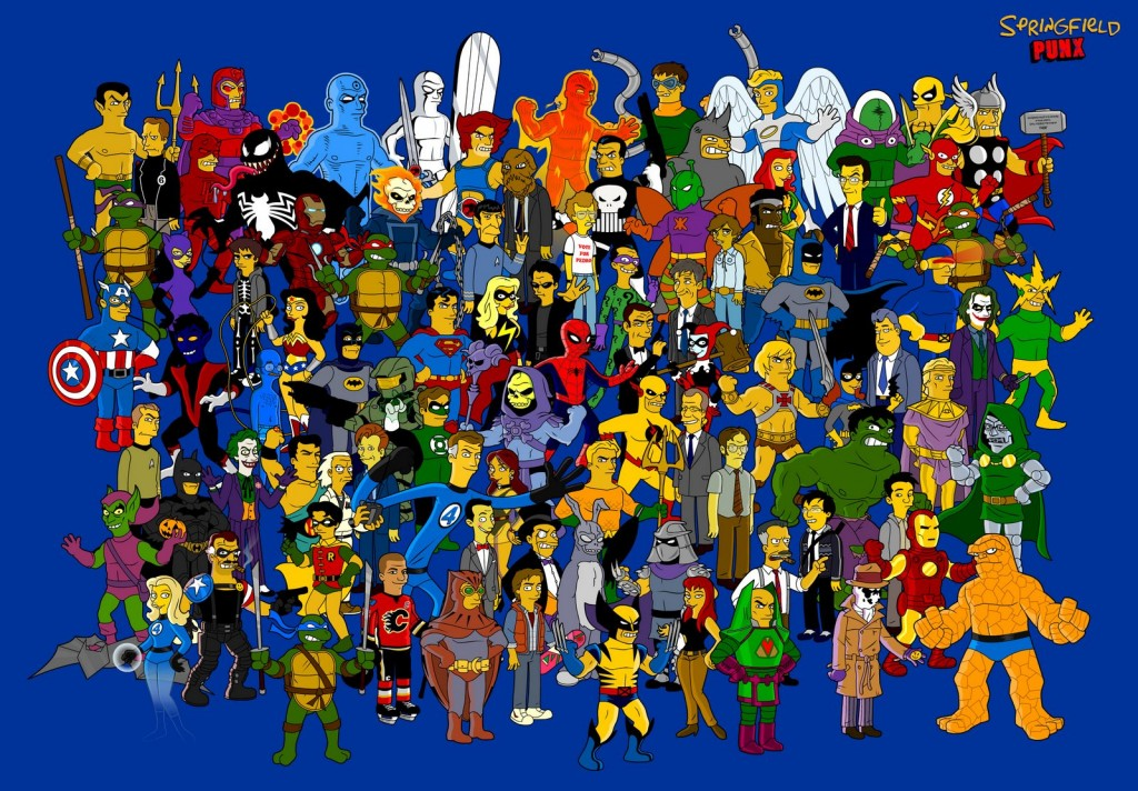 Simpsonized-Characters