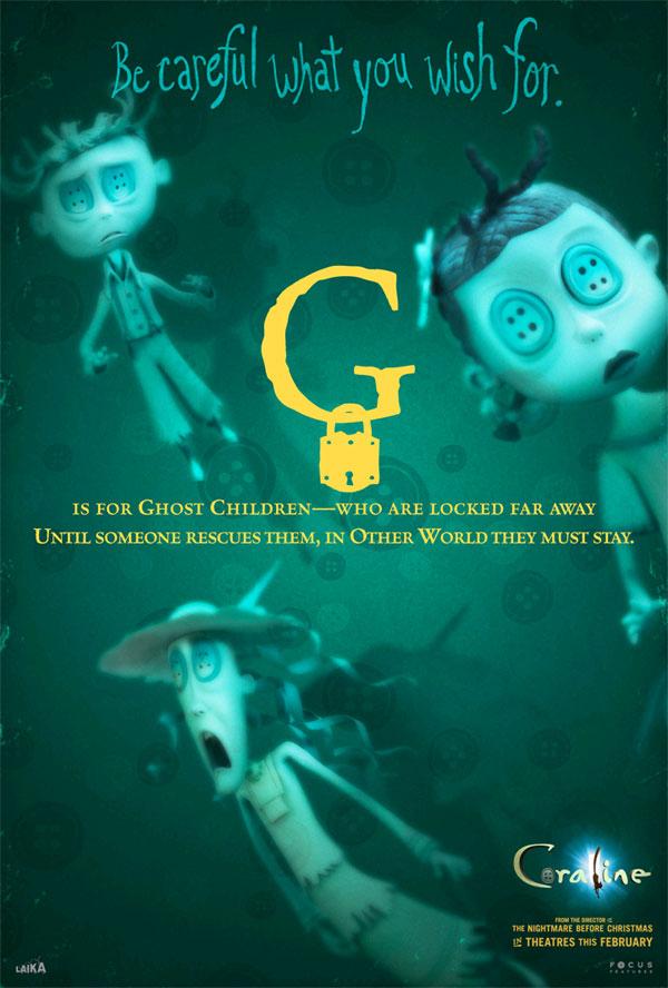 all the coraline alphabet movie posters � geektyrant
